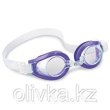 Очки для плавания PLAY, от 3-8 лет, цвета МИКС, 55602 INTEX