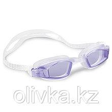 Очки для плавания FREE STYLE SPORT, от 8 лет, цвета МИКС, 55682 INTEX