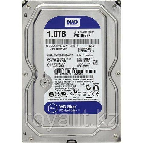 Жёсткий диск HDD 1 Tb SATA 6Gb/s Western Digital Blue, фото 2