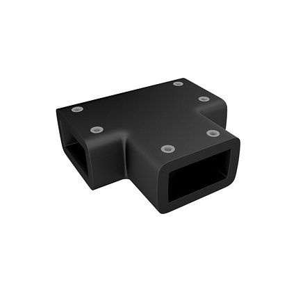 Коннектор каркаса для душевых перегородок IDDIS SLI1BS0i23 Walk In черный Slide