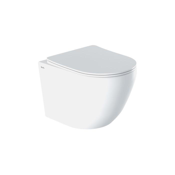 Подвесной унитаз Blanco IDDIS BLARDSEi25 (с микролифтом, дюропласт, SoftClose и EasyFix)