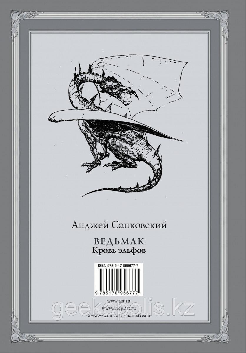 Книга «Ведьмак: Кровь эльфов»(#3), Анджей Сапковский, Твердый переплет - фото 2