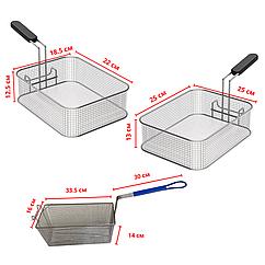 Сетки(корзина) для фритюрниц, чикен аппаратов и чебуречниц
