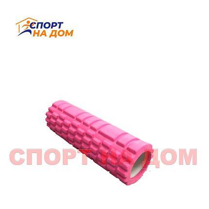 Массажный валик (ролик) для фитнеса и йоги (длина - 30 см), фото 2