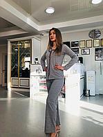 Костюм домашний (пижама) с кофтой на пуговицах и штанами