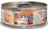 Monge Natural 80г тунец с лососем Влажный корм для кошек