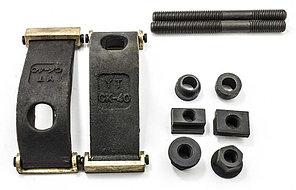 Набор прижимов CK40 с латунными подкладками, для паза 13.7 мм