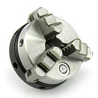 Патрон токарный K01-65 трехкулачковый самоцентрирующий, D=65 мм