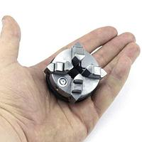 Патрон токарный K02-50 четырехкулачковый самоцентрирующий, D=50 мм