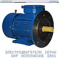 Асинхронный двигатель АИР63В2 0.55 кВт