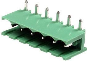 2EDGR-5.08-06P - разъем клеммника для установки на плату, угловой