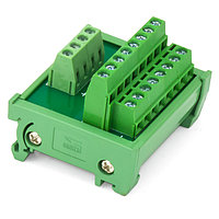 Разветвитель сигналов 1 в 8 (ток до 20 А), на DIN-рейку