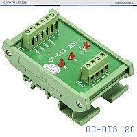 OC-DIS2CH 500K преобразователь однофазных сигналов в дифференциальные, 2 канала