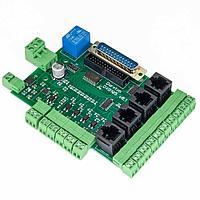 DXB105 - плата интерфейсная с опторазвязкой входов
