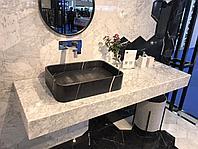 Столешница в ванну каменная