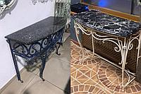 Столешница для стола каменная