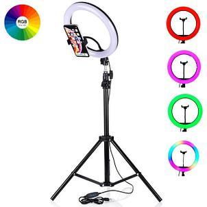 Кольцевые селфи лампы RGB