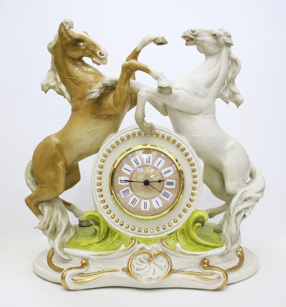 Часы Кони. Италия, ручная работа