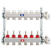 Комплект коллекторов с расходомерами ITAP 4 контура