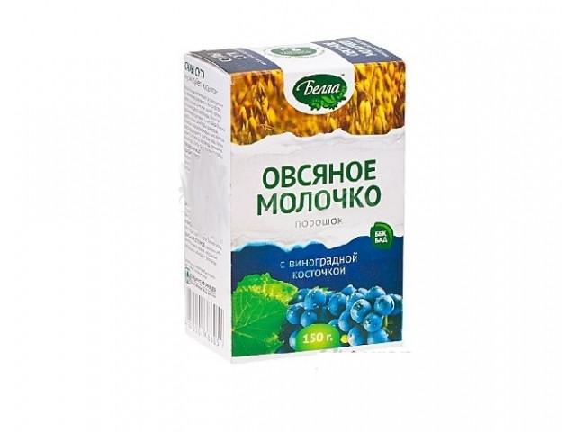 Овсяное молочко с виноградн.косточкой 150 гр Белла