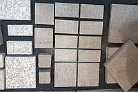 Брусчатка, гранит Курты, термообработанная 300*300*30мм