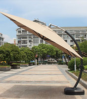 Зонт садовый Sanremo Lux с подставкой S-Lux (beige)