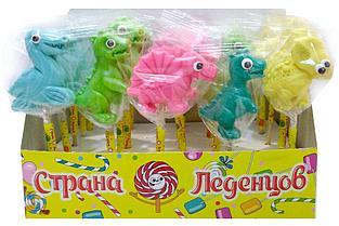 """Леденец """"Динозаврики мини"""" 15гр  (40шт. в упаковке)"""