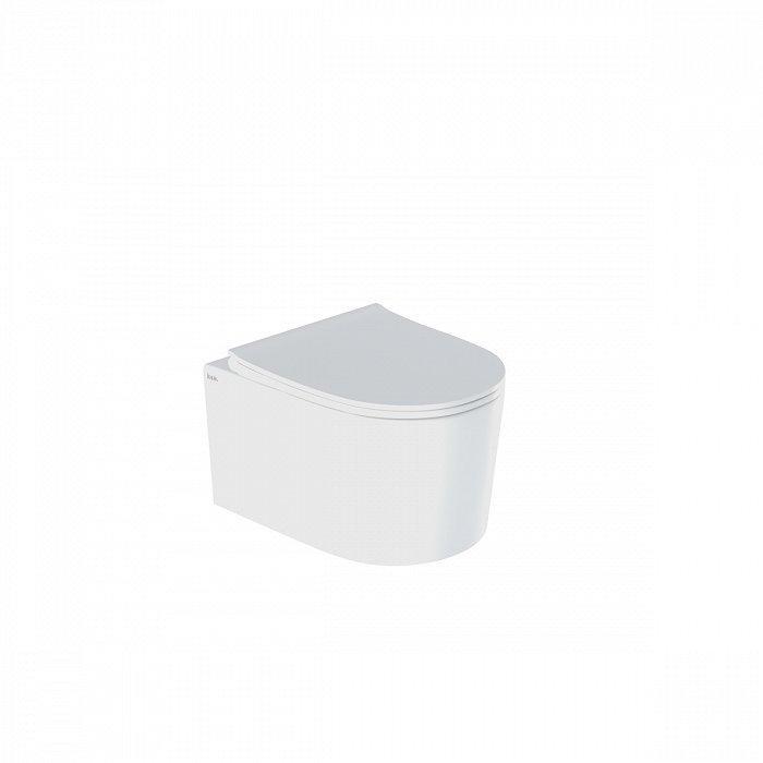Подвесной унитаз IDDIS Stone STORDSEi25 (безободковый, дюроплст, антивсплеск, Soft Close и Easy Fix)