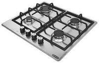Встраиваемая газовая плита DANKE 6400 W CFF inox 1