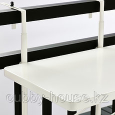 TORPARÖ ТОРПАРЁ Стол балконный, белый50 см, фото 2