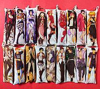 Брелок мини дакимакура с персонажами по аниме
