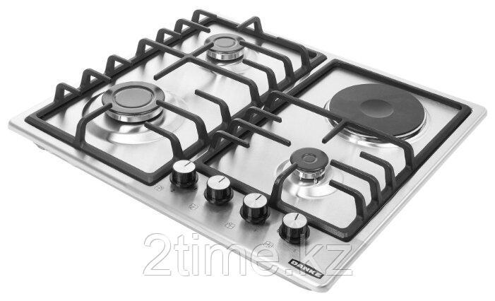 Встраиваемая газо-электр. плита DANKE 6031 C inox 2