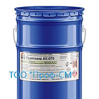 Грунтовка АК-070 для углеродистой, нержавеющей стали, алюминиевых сплавов, оцинковки (тара 40 кГ)