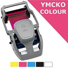 Zebra 800350-350EM красящая лента (риббон) цветная для ZC35, 200 оттисков Color-YMCKO, 200 Images, ZC350