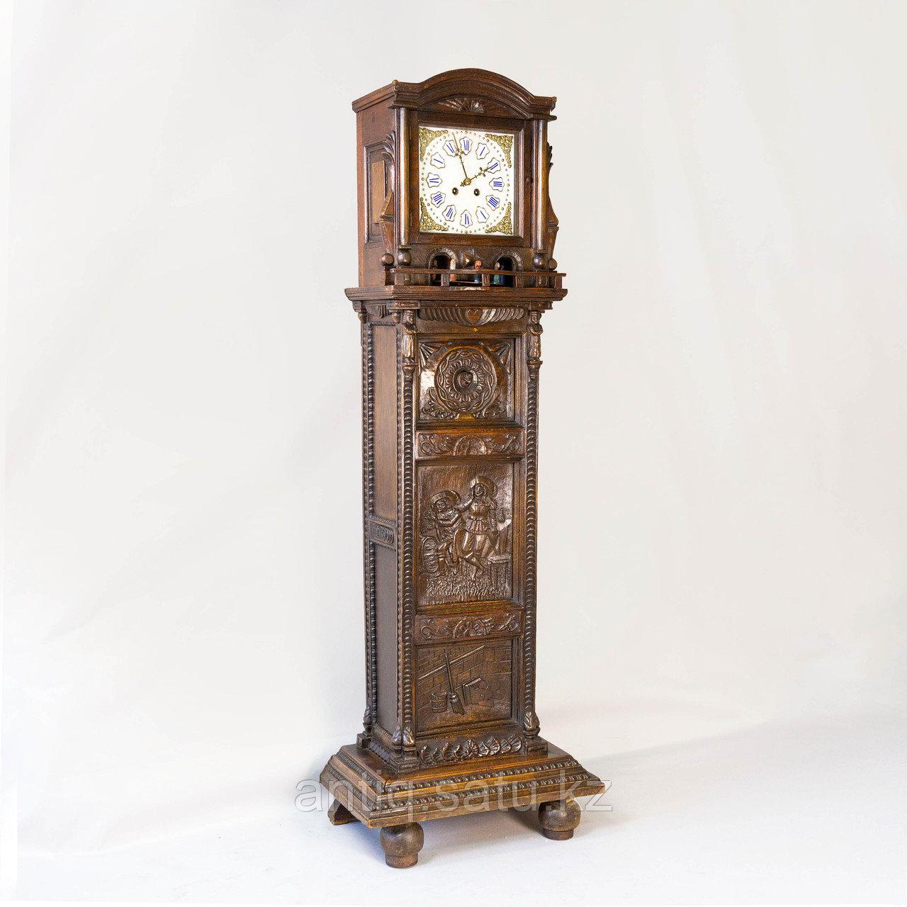 Напольные часы с каруселью. - фото 1