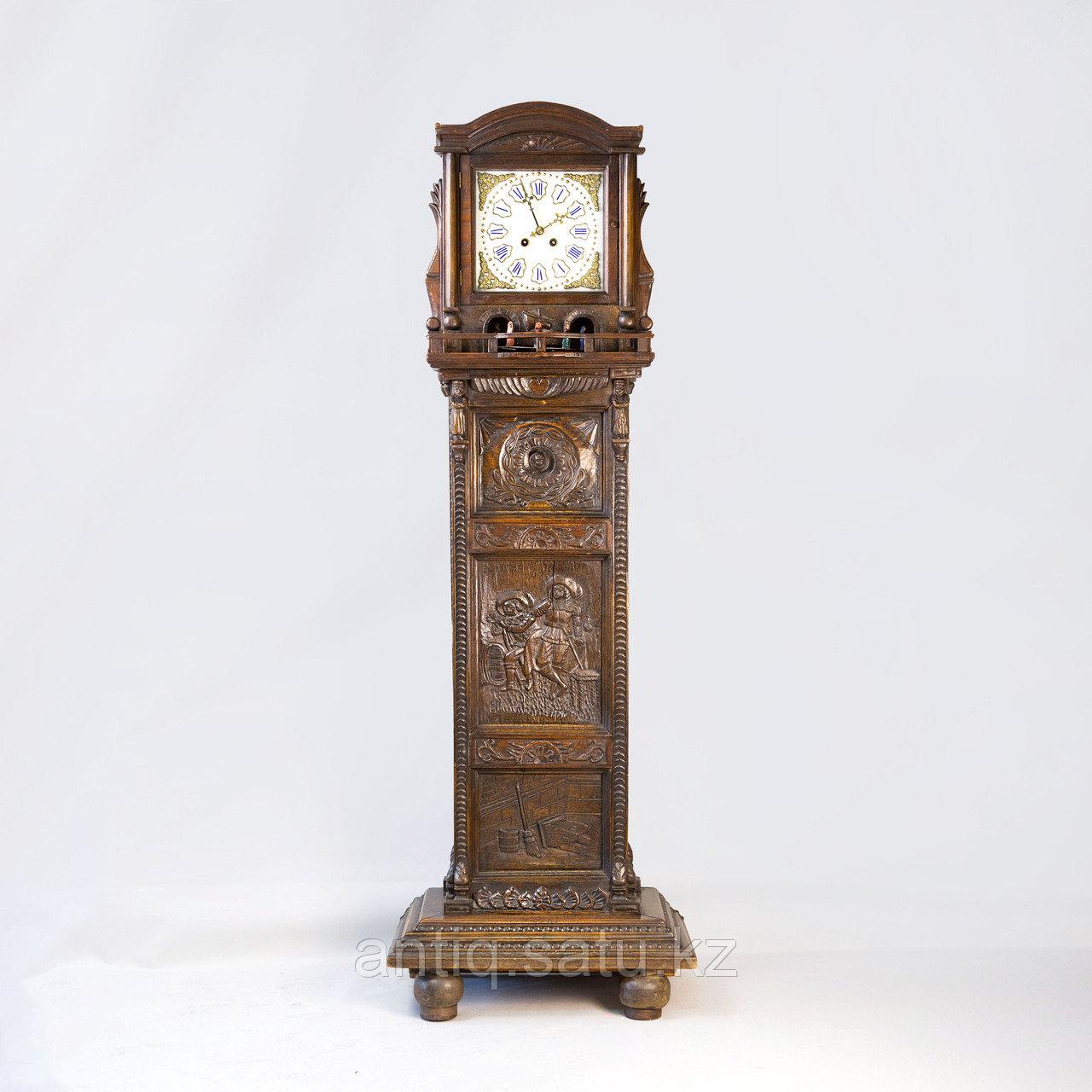 Напольные часы с каруселью. - фото 2
