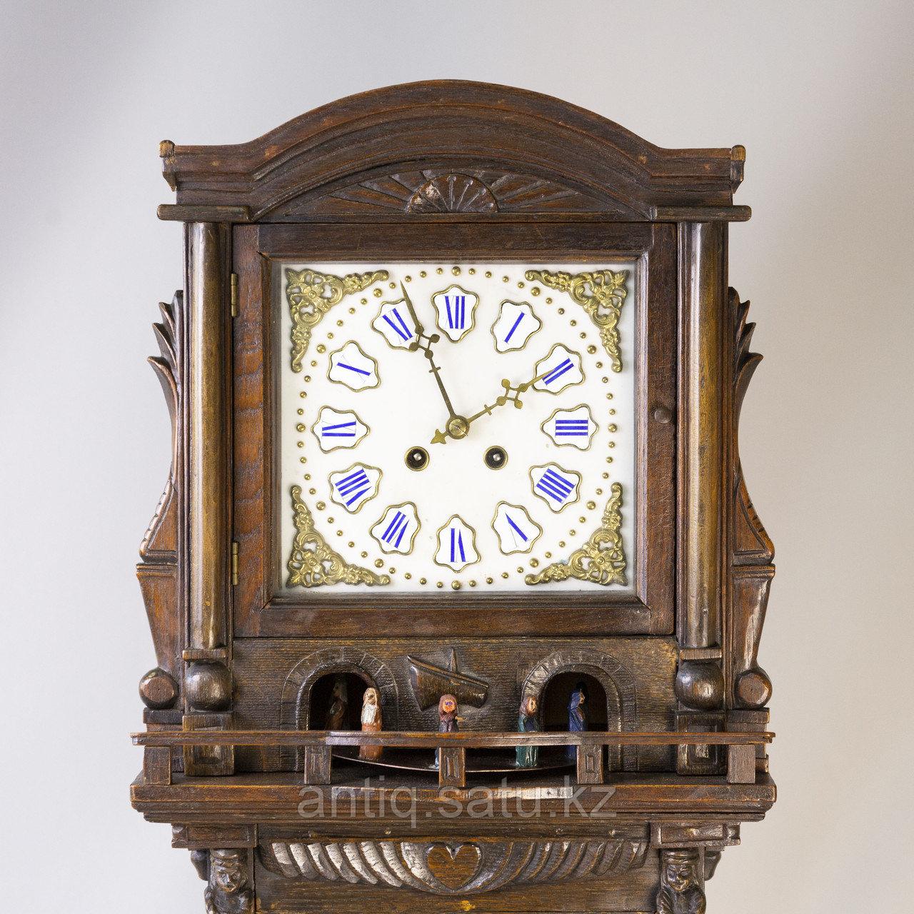 Напольные часы с каруселью. - фото 3