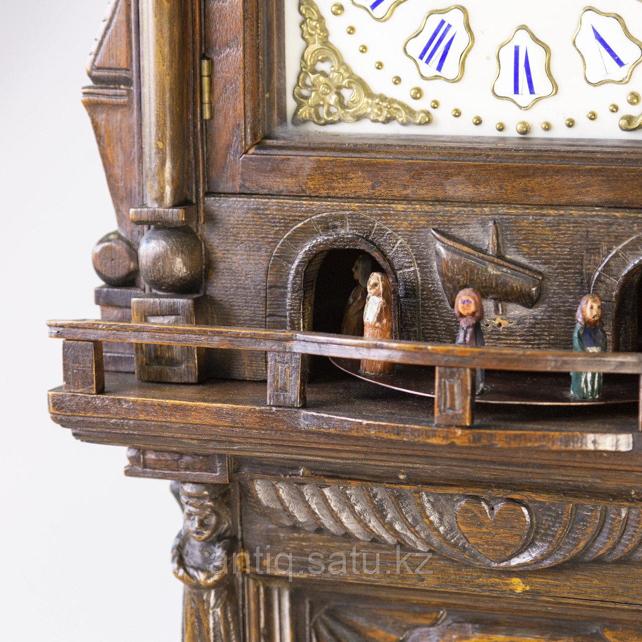 Напольные часы с каруселью. - фото 4