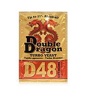 Спиртовые дрожжи Double Dragon D48, 132 гр