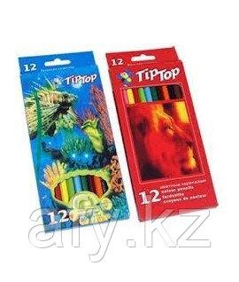 Цветной карандаш Tip-Top 12 цветов