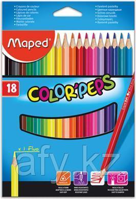 Цветные карандаши maped 183218