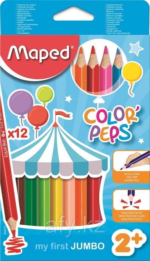 Цветные карандаши maped 834010