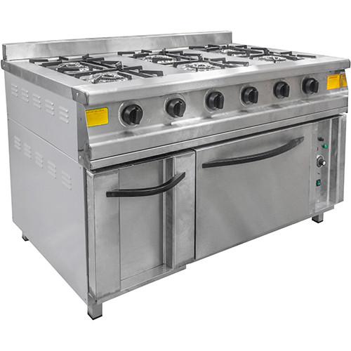 Плита газовая Пищевые Технологии ПГ-6Д