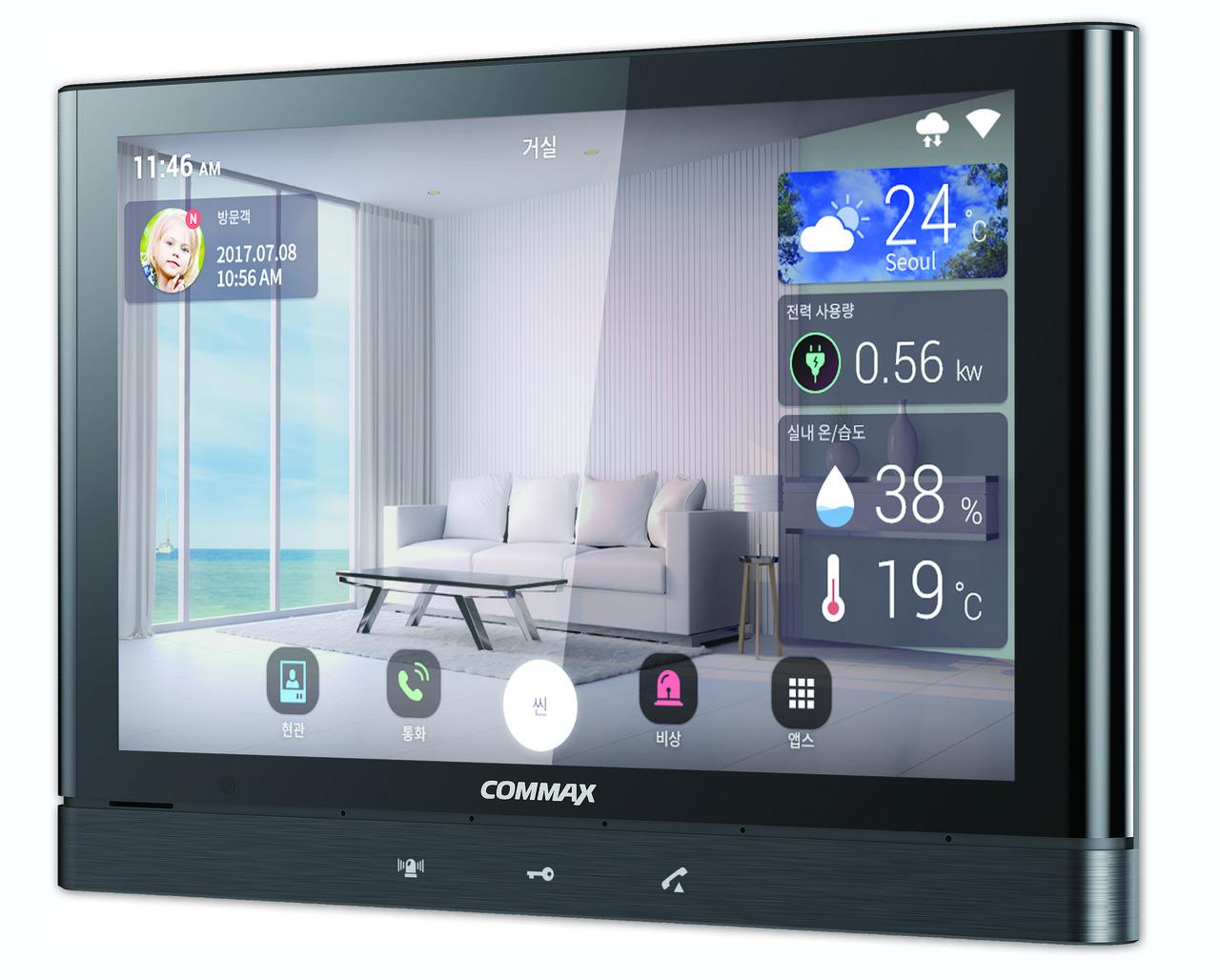 COMMAX-CIOT-1000Y-IP монитор, ОС Android, Технология Wi-Fi и IoT (Gray)