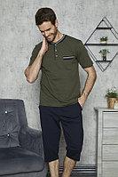 Пижама мужская XL/50-52, Оливковый