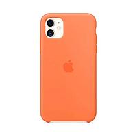 Сase Apple iPhone 11 silicone, orange