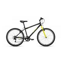 "Велосипед ALTAIR MTB HT 20 1.0 (20"" 1 ск. рост 10.5"") 2020-2021, темно-серый/желтый, 1BKT1J101009"