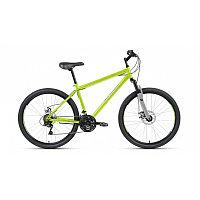 "Велосипед ALTAIR MTB HT 26 2.0 disc (26"" 21 ск. рост 19"") 2020-2021, зеленый/серый"