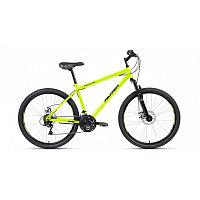 """Велосипед ALTAIR MTB HT 26 2.0 disc (26"""" 21 ск. рост 19"""") 2020-2021, ярко-зеленый/черный"""