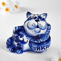 """Сувенир """"Кот с икрой"""", 8,5х10 см"""